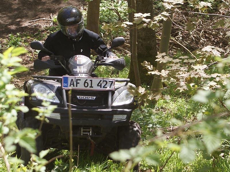 ATV-kørsel på Sjælland